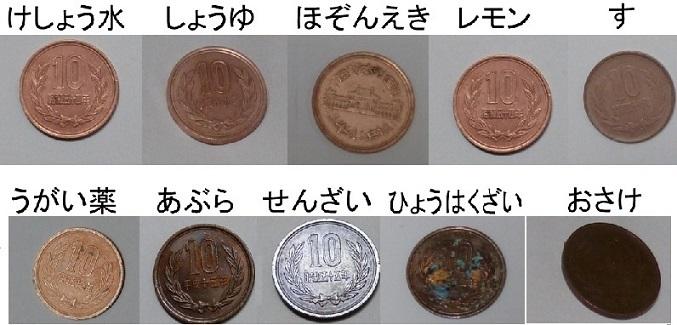 錆びた硬貨の汚れを落とす方法は? 円玉や500円 …